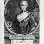 Emilie du Châtelet, gravure d'Etienne Fessard